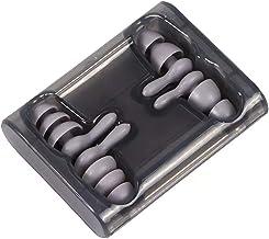 Tampões de ouvido com cancelamento de ruído 2 pares Tampões de ouvido de silicone macio reutilizáveis Protetores de ouvido...