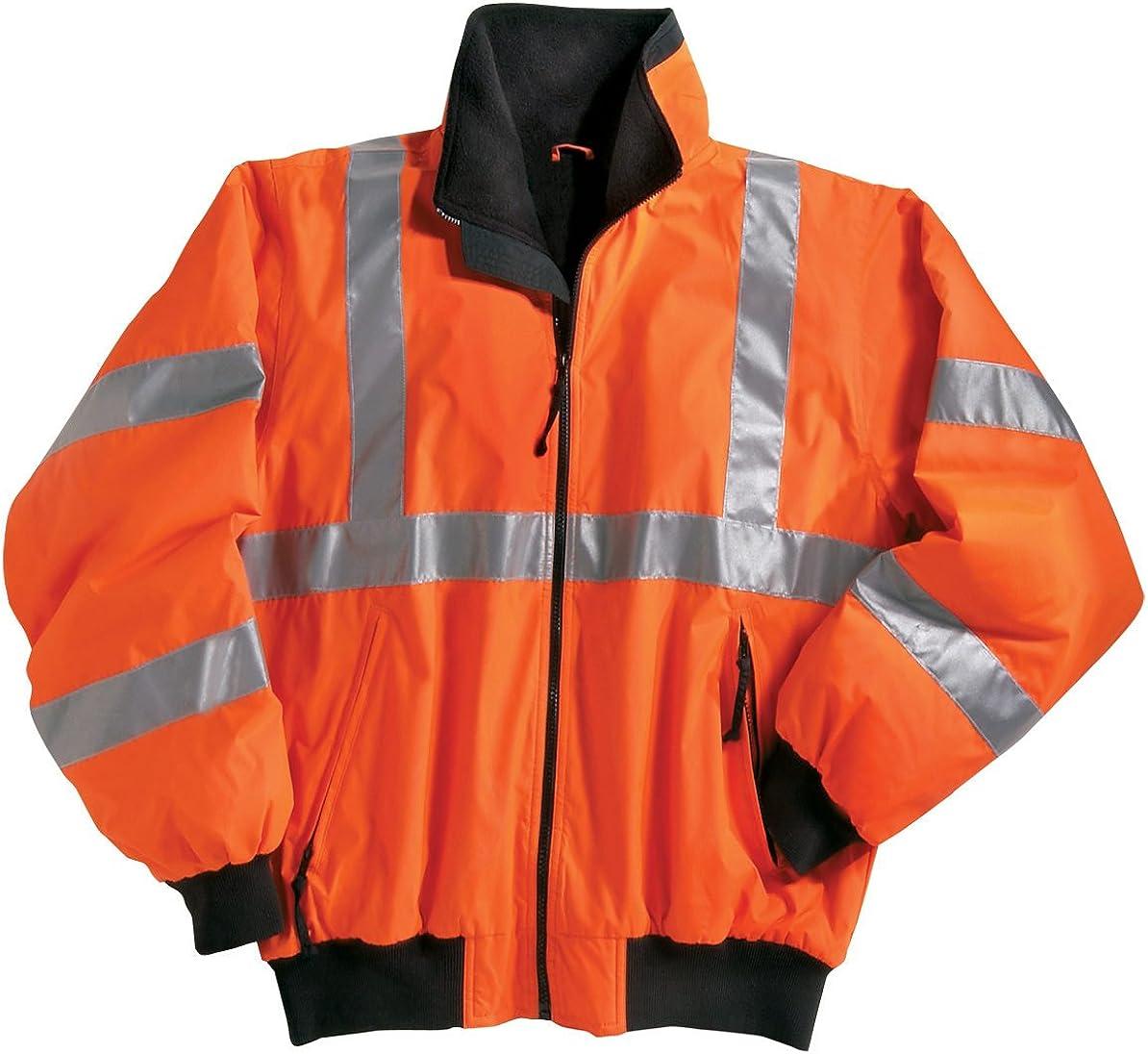 Tri-Mountain Men's 8830 District Safety Jacket