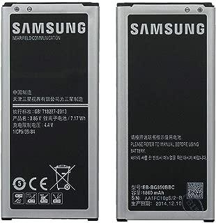 OEM Samsung EB-BG850BBC EB-BG850BBU Battery for Samsung Galaxy Alpha SM-G850-1860 mAh Non-Retail Packaging - Black/Silver