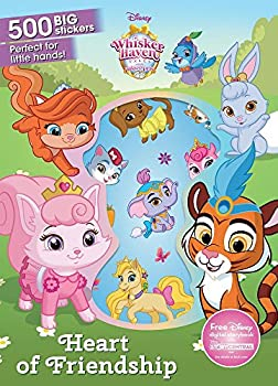 Heart of Friendship  500 Big Stickers  Disney Whisker Haven Tales with The Palace Pets