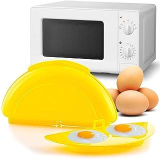 MovilCom® - Recipiente microondas, cuece Huevos Especial