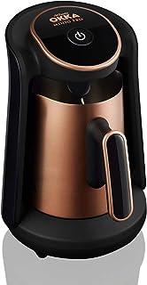 OKKA Minio Pro Turksih Coffee Machine, 4 cups, EU plug & 220 Volt (Copper)