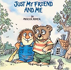 Just My Friend And Me (Turtleback School & Library Binding Edition) (Golden Look-Look Books)
