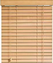 木製 ウッド ブラインド 【幅40cm×高さ97cm】 35mmスラット ナチュラル/幅35~40cm×高さ31~100cm から選べる
