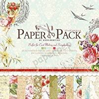 """Eno Greeting Paper Pep Pattern Paper Book 12"""" X 12"""" Blossoms"""