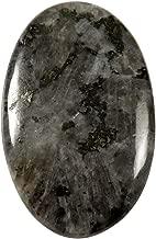 Gems&Jewels Larvikite Blue Norwegian Moonstone Oval Cabochon Natural Gemstone 30.2ct IU62