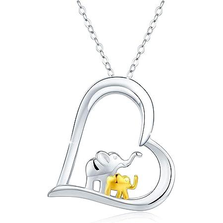 Elephant Charm Women and Girls Jewellery Sterling Silver Elephant Necklace Elephant Necklace 925 Silver Elephant Necklace Gift For Her
