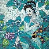 Pintura digital DIY pintura acrílica lienzo lienzo arte de belleza antigua Kit de pintura al óleo DIY decoración de la sala de estar 30 * 40 cm
