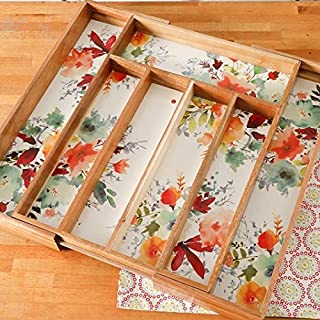 The Pioneer Woman Willow 18 x 13 Expandable Cutlery Tray