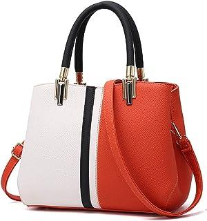 Hycurey Women PU Leather Big Shoulder Bag Purse Handbag Tote Bags