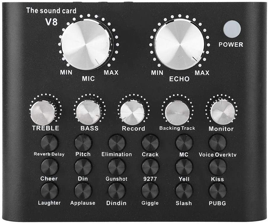 Voice Change Sound Card Audio Mixer Computer PC Li depot Phone 35% OFF Mobile