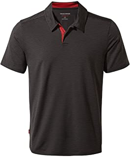 Craghoppers Mens NL Pro Short Sleeve Lightweight Wicking Polo Shirt