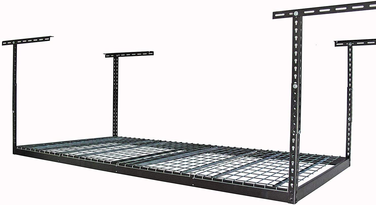 MonsterRax 4x8 Overhead Garage Storage Max 68% OFF Rack - Weight 500 Selling rankings Pound C