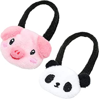 Alfie Pet - Emelia 2-Piece Set Sling for Small Animals Like Dwarf Hamster and Mouse - Color: White & Pink, Size: Small