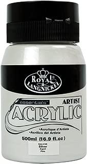Royal & Langnickel RAA-5140 - Pintura acrílica (500 ml), color plateado