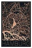 Artland Metallposter Kupfer I Wandbild Metall - Magnet