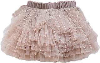 Colorful Childhood Baby Girls' Tutu Skirt Toddler 6 Layered Tulle Tutus 1-8T