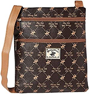 BHPC Womens Crossbody Bag, BROWN - BHVA2695BN