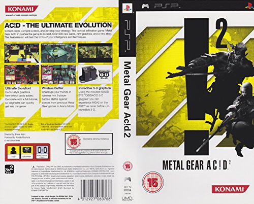 KONAMI METAL GEAR SOLID AC!D 2 PSP