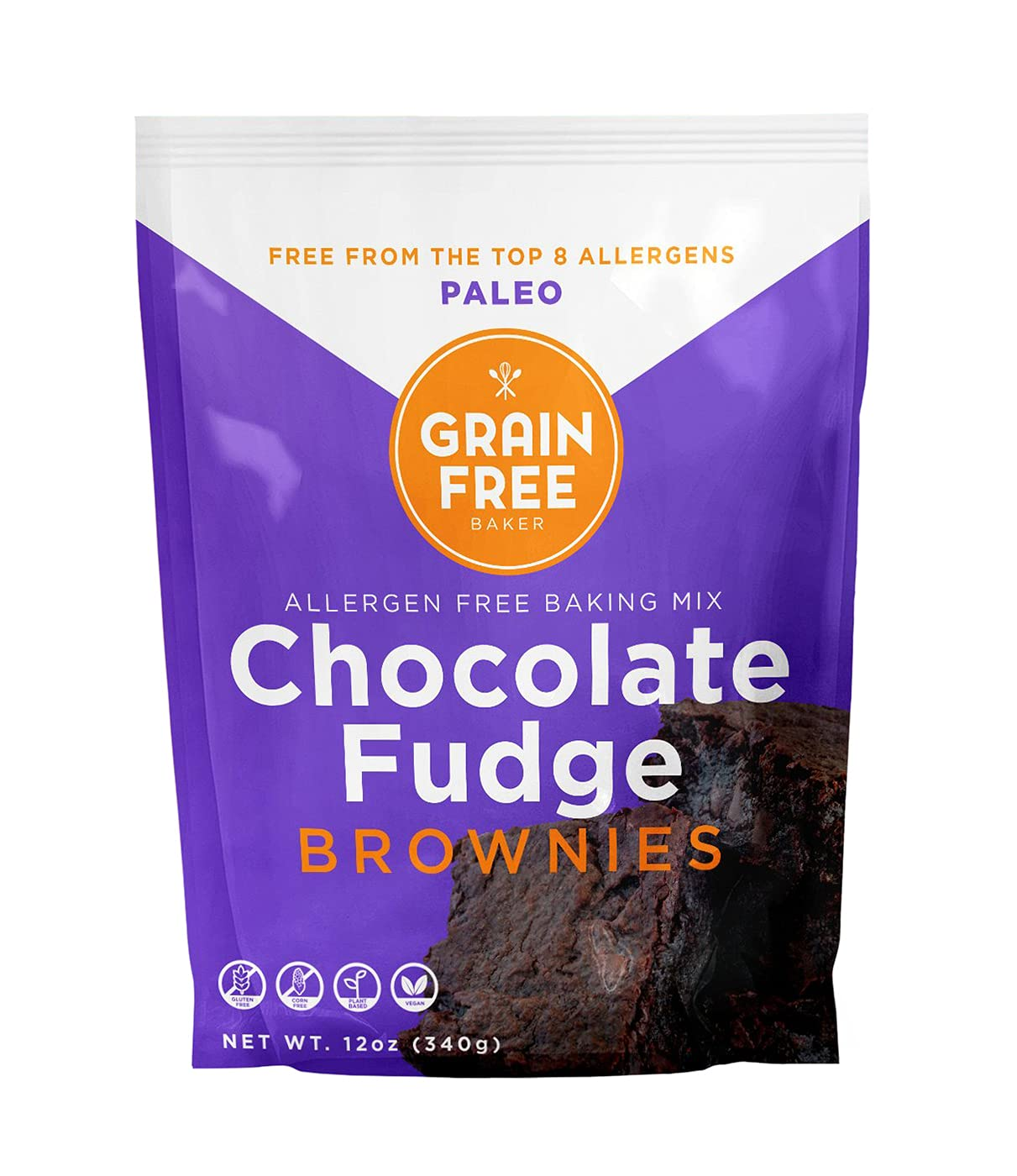 Gluten Ranking TOP19 Free Paleo Fudge Brownie Baking Purchase by Mix Grain The Bak