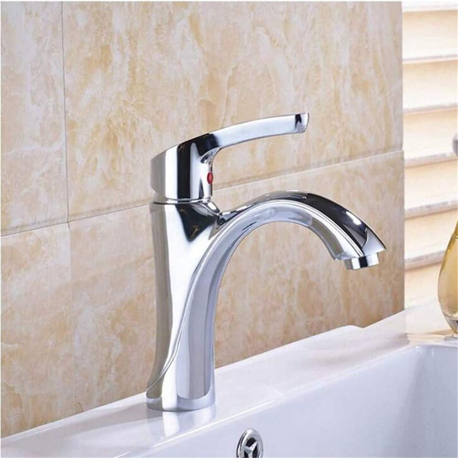 Basin Taps Swivel Spout Faucet Single Handle Stainless Steel Mixer Hot and Cold Vessel Sink Water Taps