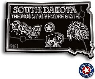 South Dakota State Map Magnet
