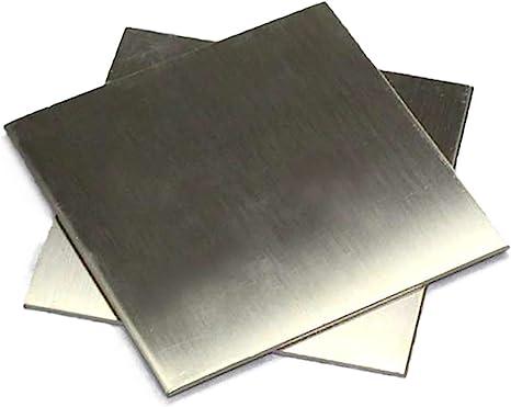 SQINAA Titanium Sheet TC4 Metal Titanium Plate 2x200x200mm for Aerospace Industrial Processes Automotive DIY,200x200x2.5mm