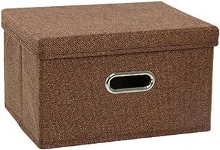 Aitaolian HOMEsn Boîtes De Rangement Pliables avec Couvercles, Tissu De Stockage Décoratif Bacs Cubes Organisateur Contene...