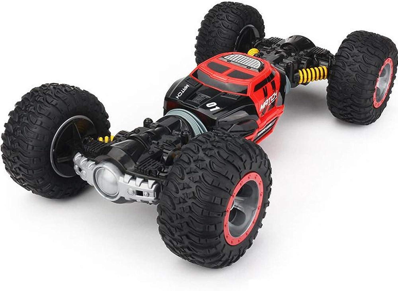 Pinjeer LKW-Skala des Fernsteuerungsautos 4WD doppelseitig 2.4GHz eine Schlüsselumwandlung All-Terrain-Fahrzeug-kletterndes Auto-Lernspielzeug für Kinder (Farbe   rot, Größe   1-Battery) B07KWNYY7L Billiger als der Preis   Elegant