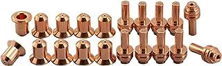 176655 Plasma Electrode 176656 25A Plasma Tip Fit Miller ICE-25C Torch 20pcs