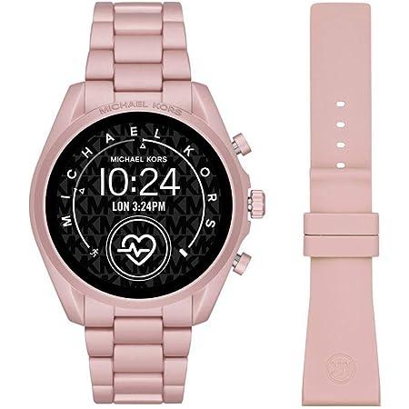 Michael Kors Touchscreen Smartwatch Gen 5 Bradshaw 2 Blush-Tone alluminio rosa per donna MKT5098
