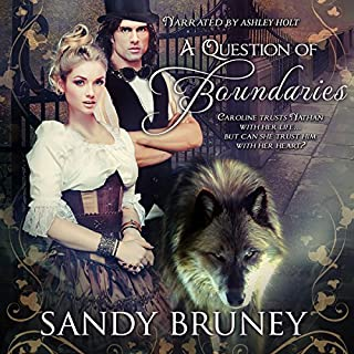 A Question of Boundaries audiobook cover art