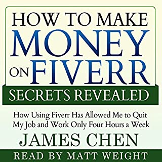 How to Make Money on Fiverr Secrets Revealed audiobook cover art