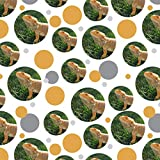 GRAPHICS & MORE Bearded Dragon in Profile Premium Gift Wrap Wrapping Paper Roll