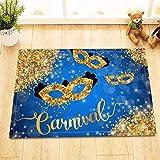 123456789 Glitter Gold Karneval Duschvorhang wasserdichtes Gewebe Home Decor Badematte Haken