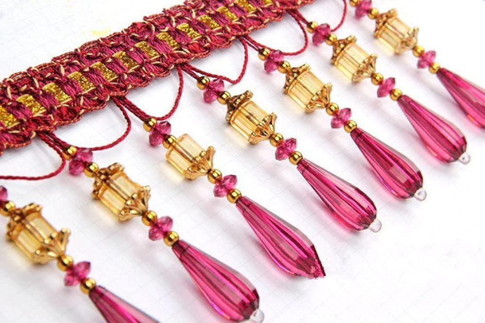 QUNLIPAI 12Yard Lot Curtain Lace Ranking TOP14 5% OFF Tassel Accessories DIY Sewing