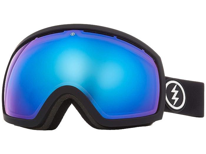 EG2 (Matte Black Brose/Blue Chrome) Snow Goggles
