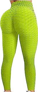 Xmiral Leggings Sportivi Donna - Maglia Eleganti Leggings Sport Opaco Yoga Fitness Spandex Palestra Pantaloni Leggins Push...