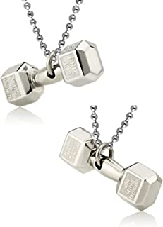 Utkarsh (Set Of 2 Pcs) Metal Silver Phil 4:13 By Shields Of Strength Weightlifting Fitness Gym Bodybuilding Sports Frosted...