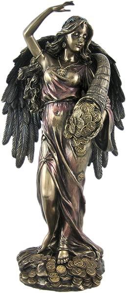 维罗纳青铜财神罗马幸运女神雕像 Tykhe