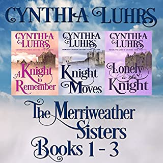 Merriweather Sisters Medieval Time Travel Romance Boxed Set Books 1-3 cover art