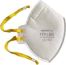 20x Faltbare FFP3 Atemschutzmaske DreamCan Staubmaske Schutzmaske - Höchste Filterklasse 99% Filter - ohne Ventil - überal...