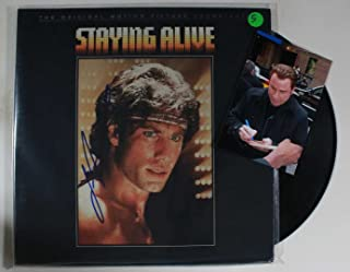 John Travolta Signed Autographed