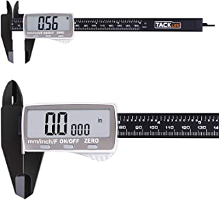 Digital Caliper 6 Inch with Larger LCD Display, Inch/Fractions/Millimeter Conversion for Small DIY and Homework, Coin Battery included - DC01