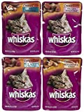 Whiskas Choice Cuts Seafood Menu Variety Pack - 12 Cups
