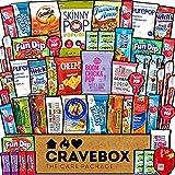 CraveBox Care Package (50 Count) Healthy Snacks Food Cookies Health...