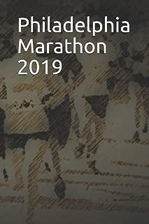 Philadelphia Marathon 2019: Blank Lined Journal
