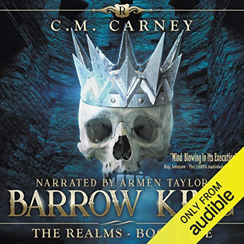 Barrow King: An Epic LitRPG/GameLit Adventure audiobook cover art