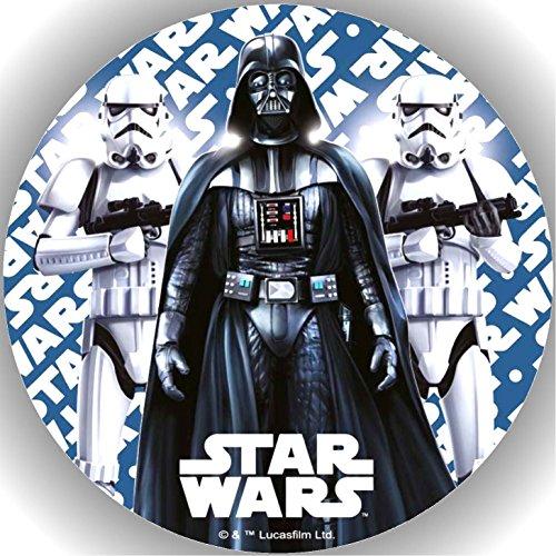 Fondant Tortenaufleger Tortenbild Geburtstag Star Wars AMA8