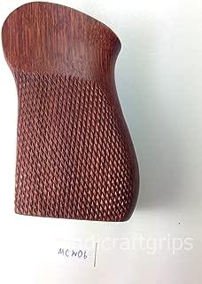handicraftgrips New Grips for Russian Makarov Wood Hardwood Grip 8 Round Standard Capacity Checkered Finger Groove Handmade #MCW06